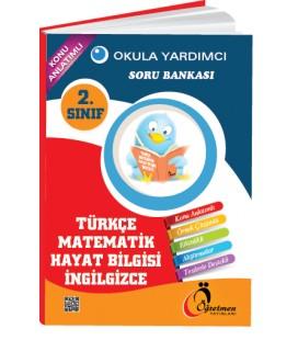 Öğretmen Yayınları 2.Sınıf Okula Yardımcı Tüm Dersler Soru Bankası