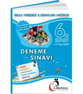 Öğretmen Yayınları 6.Sınıf Tüm Dersler 7'li Deneme Seti
