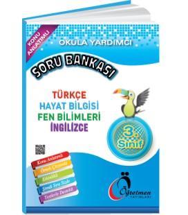 Öğretmen Yayınları 3.Sınıf Okula Yardımcı Tüm Dersler Soru Bankası