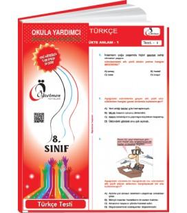 Öğretmen Yayınları 8.Sınıf Türkçe Yaprak Test