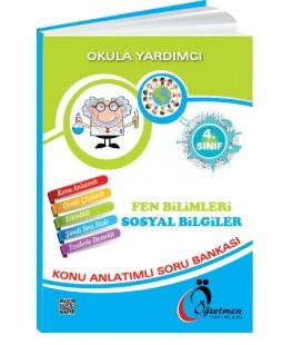 Öğretmen Yayınları 4.Sınıf Fen Bilimleri & Sosyal Bilgiler Konu Anlatımlı Soru Bankası