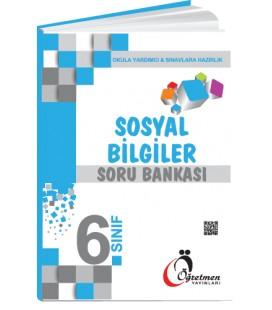 Öğretmen Yayınları 6.Sınıf Sosyal Bilgiler Soru Bankası