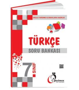 Öğretmen Yayınları 7.Sınıf Türkçe Soru Bankası