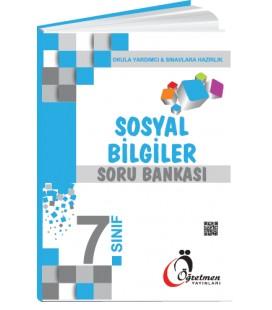Öğretmen Yayınları 7.Sınıf Sosyal Bilgiler Soru Bankası