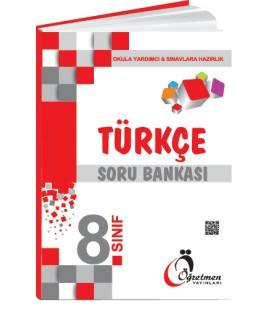 Öğretmen Yayınları 8.Sınıf Türkçe Soru Bankası