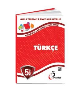 Öğretmen Yayınları 5.Sınıf Türkçe Konu Özetli Fasikül Set (4 Fasikül)