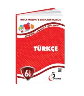 Öğretmen Yayınları 6.Sınıf Türkçe Konu Özetli Fasikül Set (6 Fasikül)