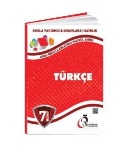 Öğretmen Yayınları 7.Sınıf Türkçe Konu Özetli Fasikül Set (8 Fasikül)