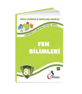 Öğretmen Yayınları 8.Sınıf Fen Bilimleri Konu Özetli Fasikül Set (5 Fasikül)