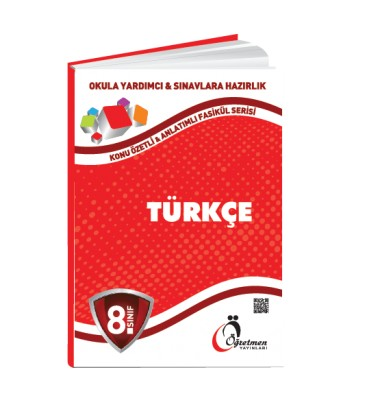Öğretmen Yayınları 8.Sınıf Türkçe Konu Özetli Fasikül Set (6 Fasikül)