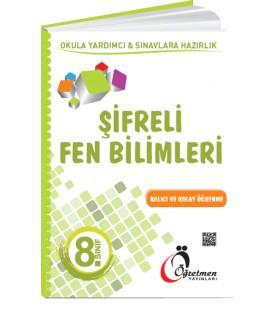 Öğretmen Yayınları 8.Sınıf Şifreli Fen Bilimleri Kitabı